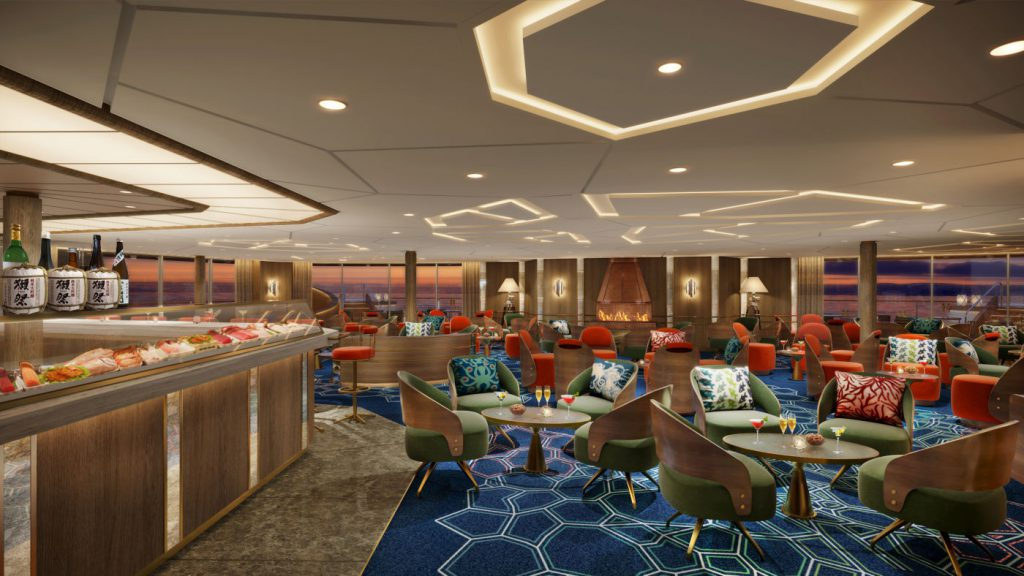 The Club on Seabourn Venture expedition ship