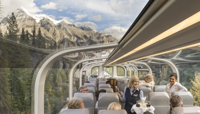 Rocky Mountaineer Domed Coach
