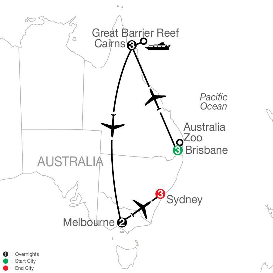 Great Sights of Australia tour - Globus
