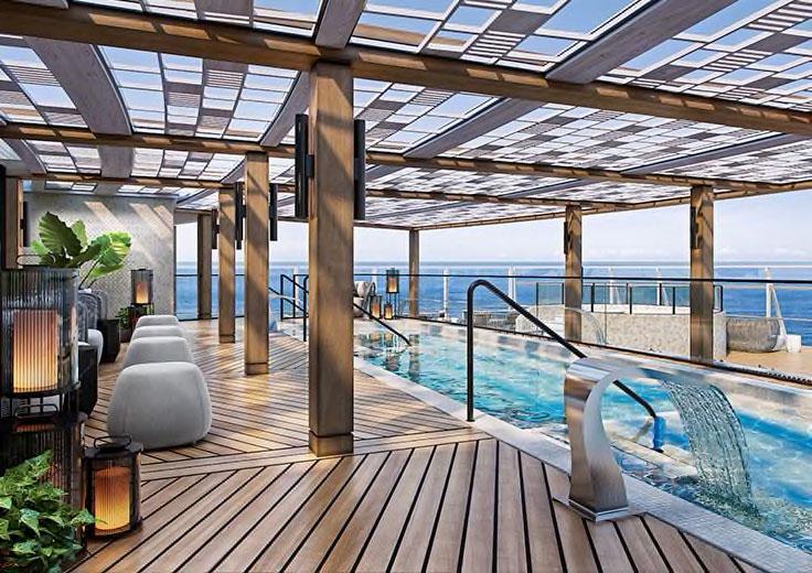 Aquamar Spa, Oceania Vista