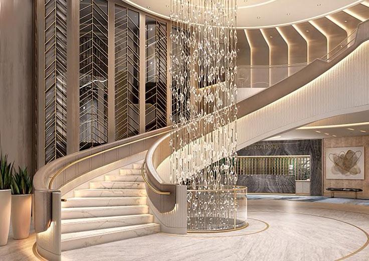 The Grand Staircase, Oceania Vista