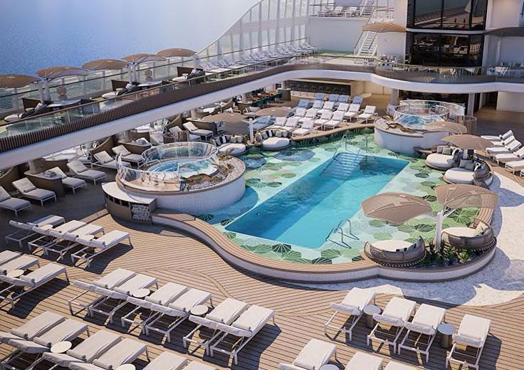 Pool Deck, Oceania Vista